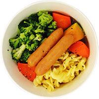 1/2日分の緑黄色野菜が摂れるポトフ